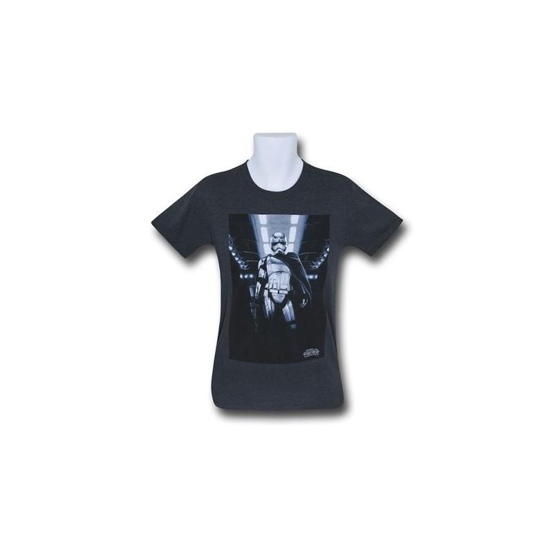 Camiseta Masculina Star Wars Capitão Phasma Preta