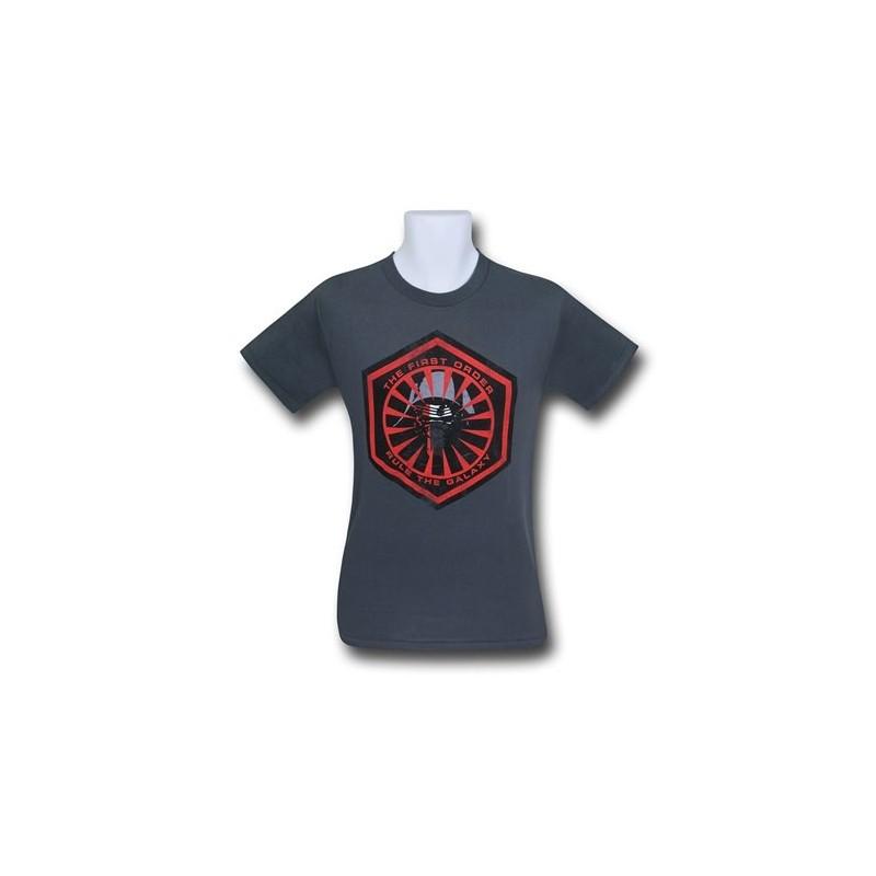 Camiseta Masculina Star Wars O Despertar da Força Primeira Ordem