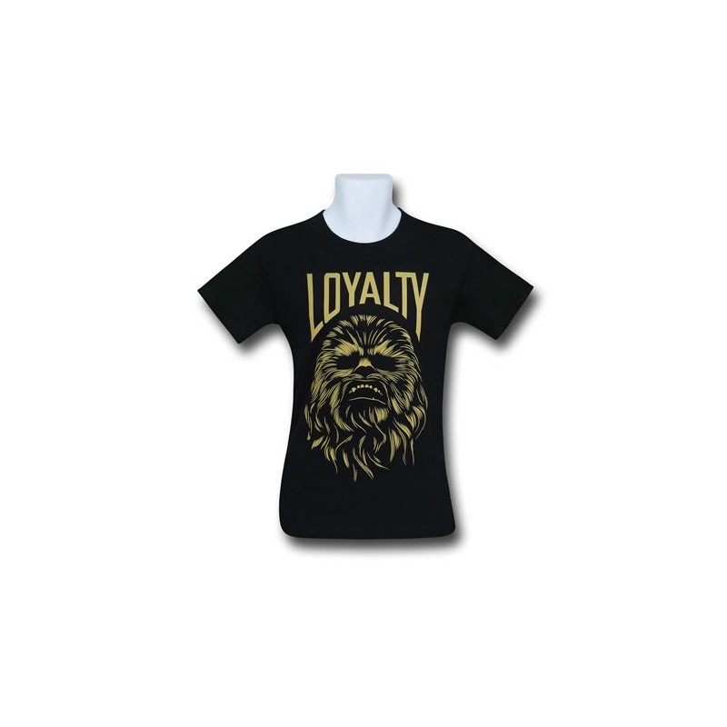Camiseta Masculina Star Wars Chewbacca Preta