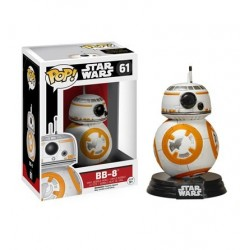 Mini Figura Boneco Robô BB-8 Star Wars O Despertar da Força