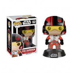 Mini Figura Boneco Poe Dameron Star Wars O Despertar da Força