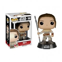 Mini Figura Boneco Rey Star Wars O Despertar da Força