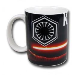 Caneca de Porcelana Star Wars O Despertar da Força Kylo Ren Branca