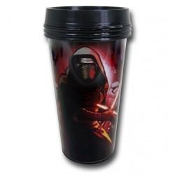 Copo Star Wars O Despertar da Força Kylo Ren Black