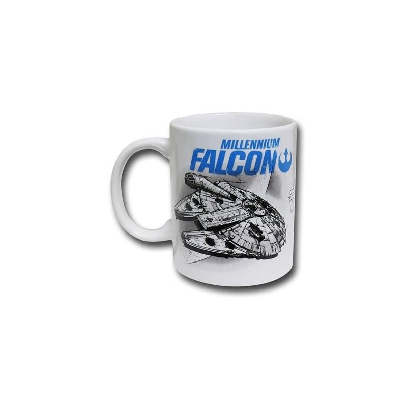 Caneca de Porcelana Star Wars Millennium Falcon