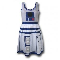 Vestido Adulto Star Wars R2D2 Godê