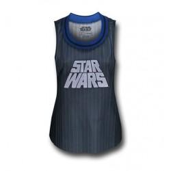 Regata Feminina Star Wars Esportes Cinza