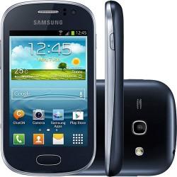Smartphone Celular Samsung Galaxy Fame Grafite Android 4.1 3G Wi-Fi Câmera 5MP Memória Interna 4GB GPS