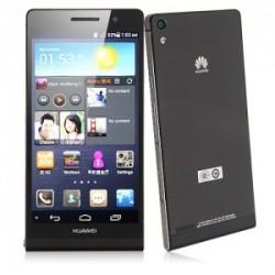 Smartphone Huawei Ascend P6 Preto Android 4.2 3G/Wi-Fi Câmera 8 MP 8GB
