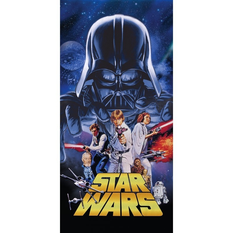 Toalha de Praia Star Wars Personagens