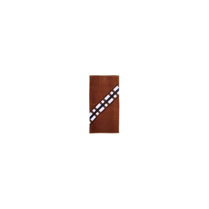 Toalha de Praia Star Wars Chewbacca Traje Marrom