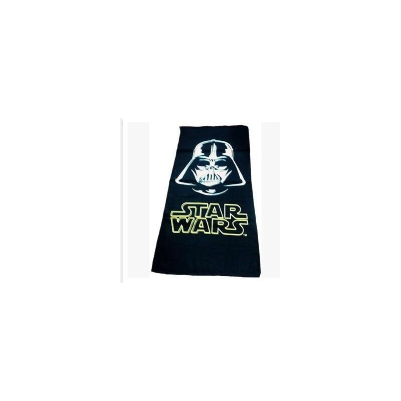 Toalha de Praia Star Wars Darth Vader Preta