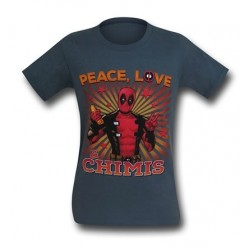 Camiseta Masculina Deadpool Geek Cinza