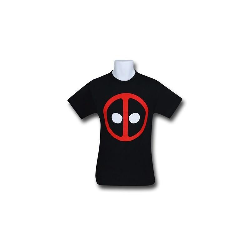 Camiseta Masculina Deadpool Geek Símbolo Preta