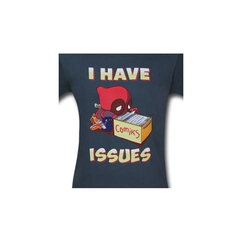 Camiseta Masculina Adulto Deadpool Eu Tenho Problemas