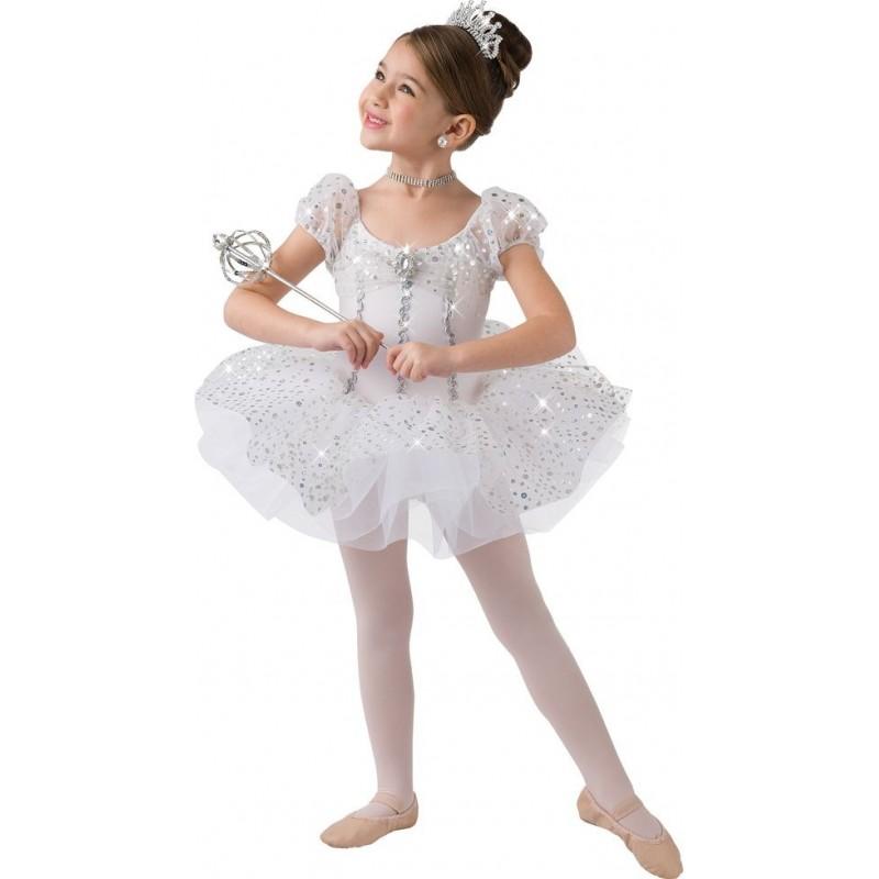 d3e746dd8a Fantasia Infantil Bailarina Meninas Branco Ballet Halloween Carnaval