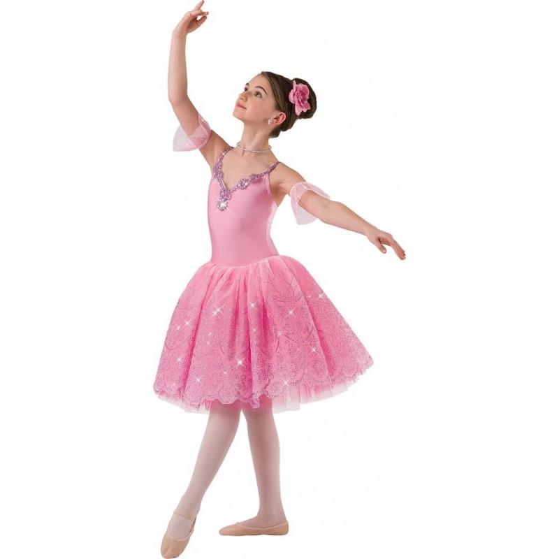 5a4d44ba1c Fantasia Infantil Bailarina Princesa Aurora Halloween Carnaval