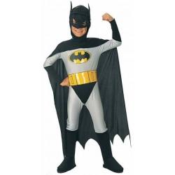 Fantasia Infantil Batman Clássico Meninos Carnaval Halloween