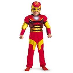 Fantasia Infantil Homem de Ferro Meninos Halloween Carnaval