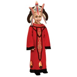 Fantasia Infantil Rainha Amidala Star Wars Halloween Carnaval
