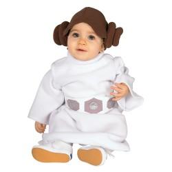 Fantasia Infantil Princesa Leia Star Wars Bebês Halloween Carnaval
