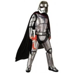 Fantasia Adulto Capitão Phasma Star Wars O Despertar da Força Halloween Carnaval