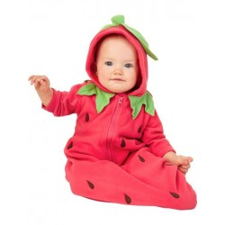 Fantasia Infantil para Bebês Melancia Halloween Carnaval