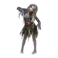 Fantasia Infantil De Zumbi Terror Halloween Carnaval