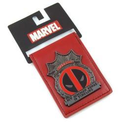 Carteira Masculina Deadpool Super Herói Marvel Couro