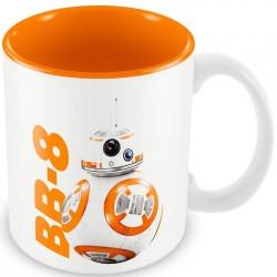 Caneca de Café Porcelana BB-8 Star Wars O Despertar da Força Branca