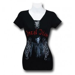 Camiseta Feminina Daryl Dixon da Série The Walking Dead