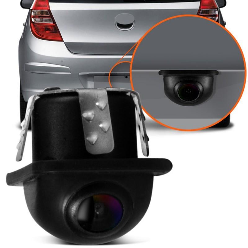 Câmera de Ré Estacionamento Tartaruga Embutida
