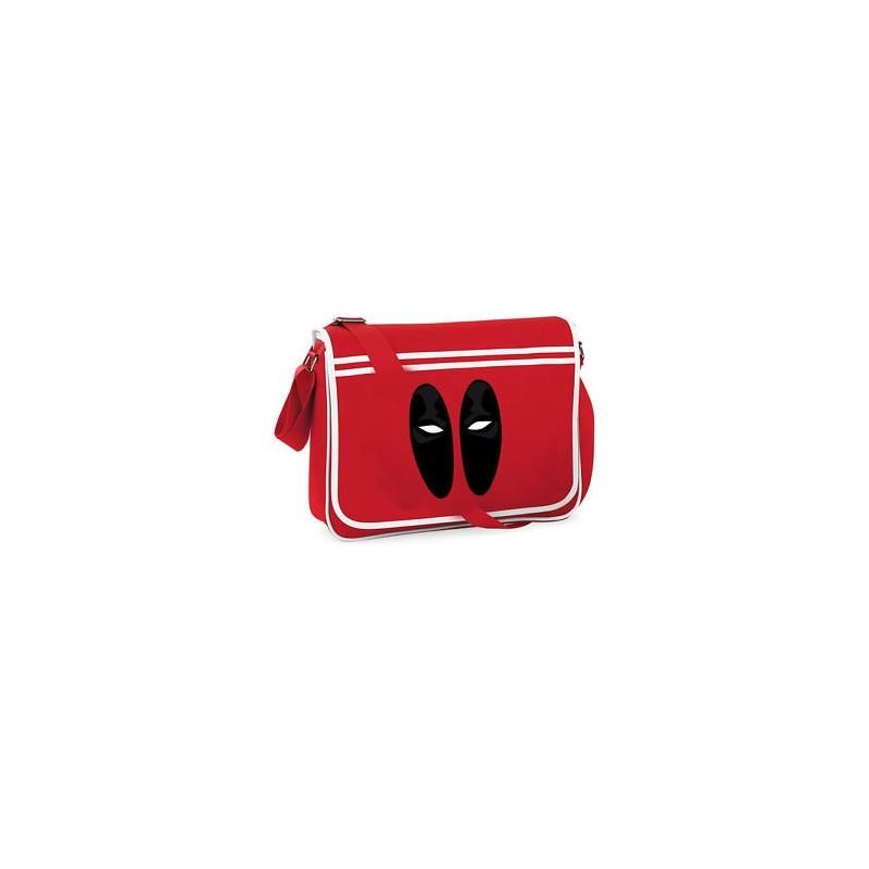 Bolsa Carteiro Deadpool Marvel Vermelha