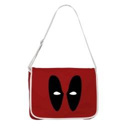 Bolsa Carteiro Deadpool Marvel Vermelha Unissex