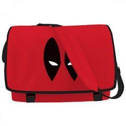 Bolsa Escolar Carteiro Deadpool Marvel Vermelha
