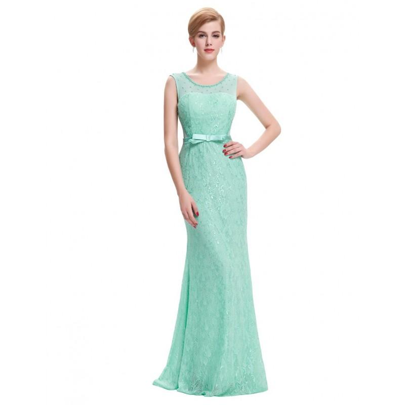 4cde6c8b8 Vestido Festa Renda Azul Sereia Longo Importado