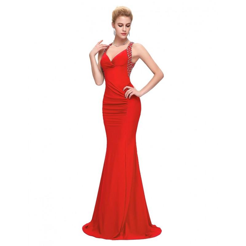 Vestido  Longo Festa Vermelho Sexy Sereia Bailes Formaturas