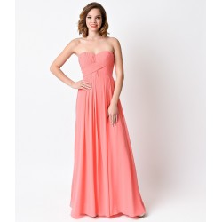 Vestido Longo Festa Rosa Nude Tomara que Caia Bailes Formaturas