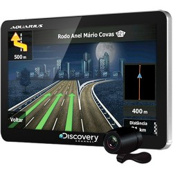 "GPS MTC3842 Discovery Channel Slim Tela 4.3"" TV Digital Câmera de Ré Mp3 e Mp4 Player"