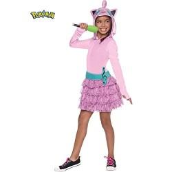 Fantasia Infantil Pokemon Go Wigglytuff Meninas Vestido