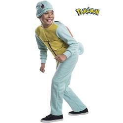 Fantasia Infantil Pokemon Go Squirtle Macacão Meninos