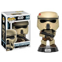 Figura de Ação Boneco Pop Scarfit Stormtrooper Rogue One Star Wars Importado