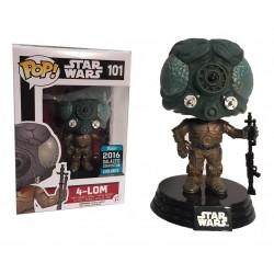 Figura de Ação Boneco Pop 4-LOM One Star Wars Importado