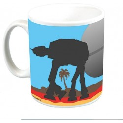 Caneca de Café Scariff Beach Rogue One Uma História Star Wars
