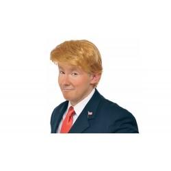 Peruca Donald Trump Fantasia Carnaval Halloween
