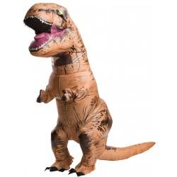 Fantasia Adulto T-Rex Dinossauro Inflável Importada Halloween Carnaval