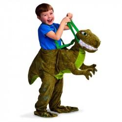 Fantasia Infantil Montado no Tiranossauro Rex Importada