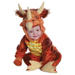 Fantasia Infantil Dinossauro Tricerátopo Bebês Importada
