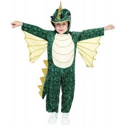 Fantasia Infantil Dragão Verde Meninos Importada