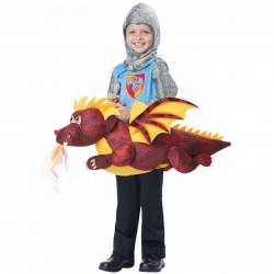 Fantasia Infantil Voando no Dragão Meninos Importada